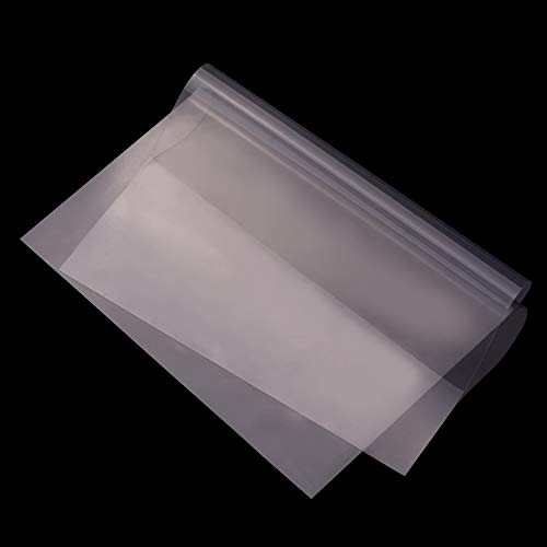Entweg-3D-Druckerharz, Fep Film Transparent Release Film Sheet 280 * 200 M Dicke 0,1 mm Hohe Durchlässigkeit Kompatibel mit Wanhao D8 D7 Dlp Photon Sla Uv-Harz 3D-Drucker, 10 Stück