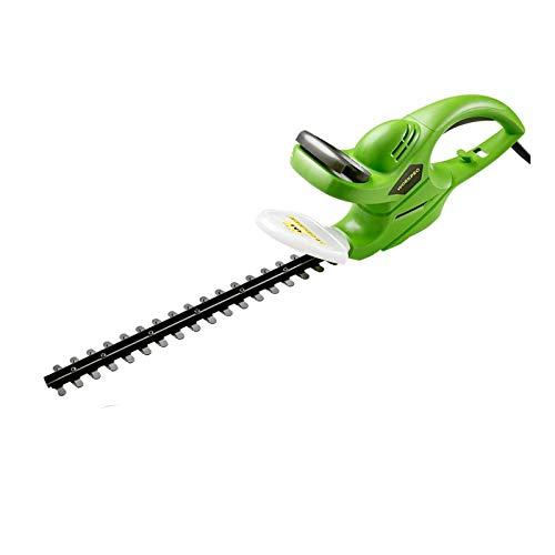Cortasetos inalámbrico, cuerpo de plástico PP de alta densidad, hoja de corte de doble filo, mango de goma antideslizante, tamaño 27.6x3.3 pulgadas cortadora de arbustos de doble cara para jardín