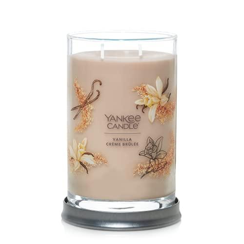 Yankee Candle Vanilla Crème Brulée Signature Large Tumbler Candle