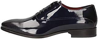 MARINI Derby - Zapatos elegantes para hombre CR1628 bis 427, de piel, color azul, original PE