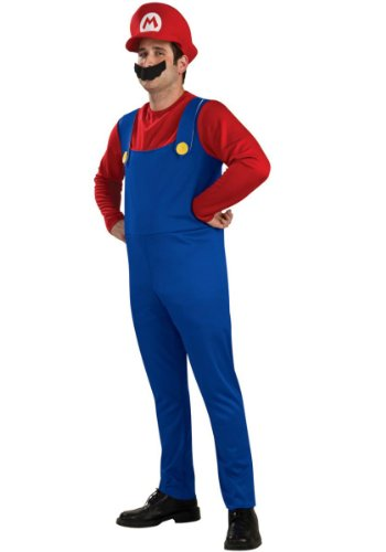 Déguisement Mario Bros Licence - Taille : L
