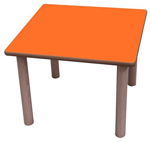 Mobeduc-tafelkleed, vierkant, hout 60 x 60 cm, talla 3 Haya Y Naranja