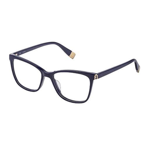 FURLA Occhiali da Vista VFU392 0991 53-16-135 donna blu scuro lucido