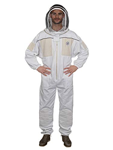Humble Bee 431 Ventilated Beekeeping Suit with Fencing Veil