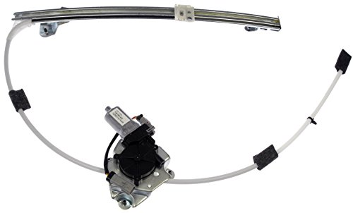 Dorman 748-569 Rear Driver Side Power Window Motor and Regulator Assembly for Select Jeep Models
