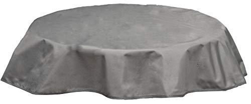 beo Table d'extérieur Plafond imperméable, Rond, diamètre 160 cm, Gris Clair