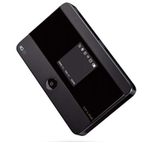 TP-Link M7350 Mobiler 4G-WLAN-Hotspot bis 10 Geräte 150MBit/s mit microSD-Kartenslot Schwarz