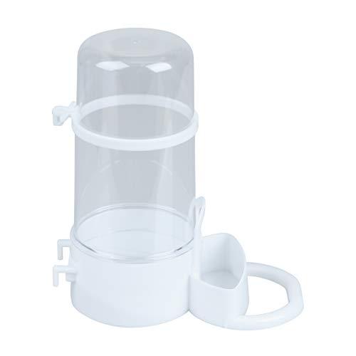 POPETPOP Alimentador automático de hámster de Conejo dispensador de Botellas de Comida Plato de Comida para cobayas Ratones hámster pequeño comedero para Mascotas 15x7.2x15.5cm (Color Aleatorio)