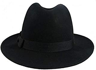 Unisex Headwear Men Women Winter Wool Fedora Hat Trilby Crown Cap Wide Brim Bowler Derby Floppy Bucket Hat GH3131