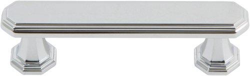 Atlas Homewares 320-CH Dickinson Polished Chrome 4.2-Inch Pull by Atlas Homewares