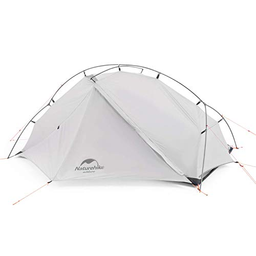 Naturehike Vik 2 Person Ultralight Backpacking Tent - 3 Season Lightweight Waterproof Camping Tent for Outdoor Camping, Hiking, Mountaineering, 2.9lbs with Foot Print