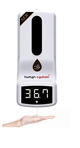 Termómetro Dispensador de gel 2 en 1 por sensor infrarrojo medición temperatura automática alta precisión