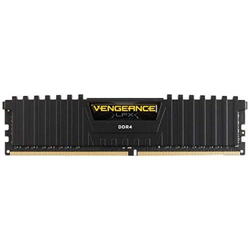 Corsair Vengeance LPX Memorie per Desktop a Elevate Prestazioni, 8 GB (1 X 8 GB), DDR4, 3000 MHz, C16 XMP 2.0, Nero