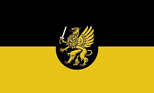 Unbekannt magFlags Tisch-Fahne/Tisch-Flagge: Schramberg 15x25cm inkl. Tisch-Ständer