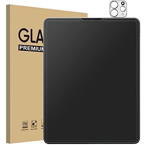 Mothca [1+1 Stück] Panzerglas mattes Schutzfolie für iPad Pro 11 Zoll 2021/2020/2018 iPad Air 4th Generation 10.9 Inch, Anti-Kratzen, Anti-Bläschen Schutzglas Bildschirmschutz