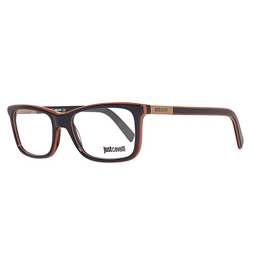 Just Cavalli Optical Frame Jc0605 092 53 Montature, Marrone (Brown), 53.0 Uomo