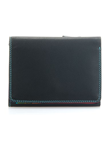 Portafoglio donna mywalit - Small Tri-fold Wallet - 106-4 Black Pace