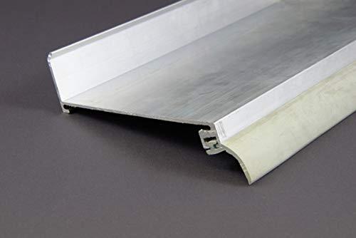Wandanschlussprofil für Stegplatten Aluminium Pressblank 4100mm