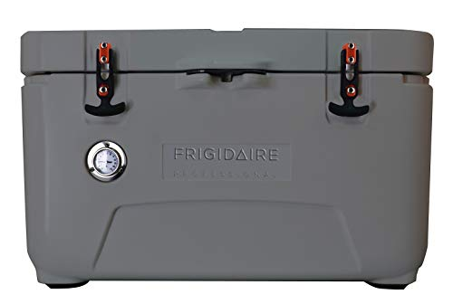 Frigidaire FXHC7001-GRAPHITE Professional 70-Qt. Roto-Molded Hard Cooler with Built-in Thermometer, Graphite, Quart