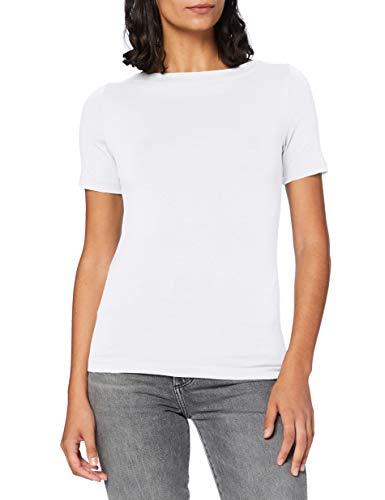 VERO MODA Womens Vmpanda Modal S/S Top Ga Noos Shirt, Bright White, XL