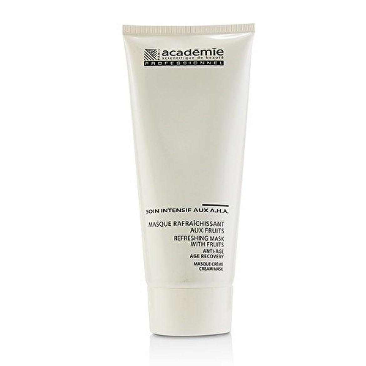 前投薬インターネット抑制アカデミー Refreshing Mask With Fruits Age Recovery Cream Mask (Salon Size) 200ml/6.7oz並行輸入品