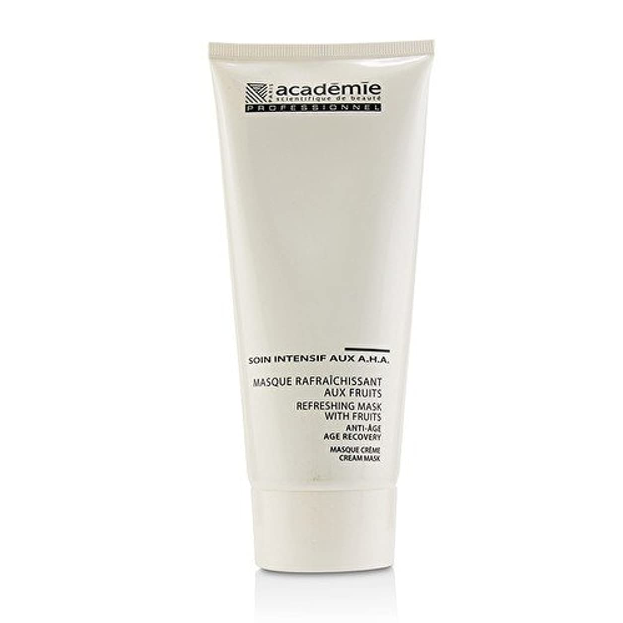 ミネラル米ドル高度なアカデミー Refreshing Mask With Fruits Age Recovery Cream Mask (Salon Size) 200ml/6.7oz並行輸入品