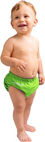 Cressi Babaloo Diaper Pañal Antifugas Lavable y Reutilizable, Unisex bebé, Lime, 4T/5T (36-48 Meses)