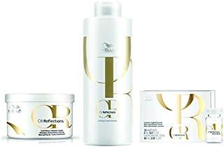 Kit Shampoo Máscara e Ampolas Wella Oil Reflections
