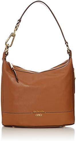 Calvin Klein Sophia Micro Pebble Leather Hobo Shoulder Bag Caramel product image