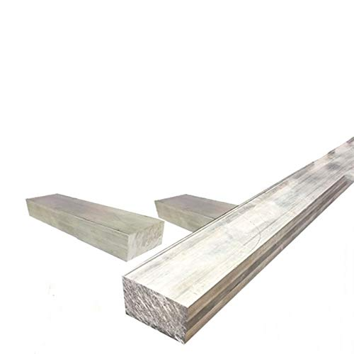 caihv-Lámina de Metal 1pc Aluminio Plana Placa Placa Placa Hoja de 15 mm de Grosor Serie con Resistencia al Desgaste for Piezas de maquinaria, Hoja Pura (Mesh : 15x30x200mm)