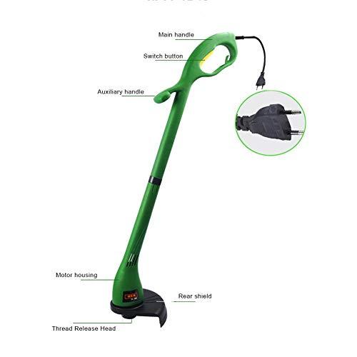 Chifans Faltender elektrischer Drehrasenmäher, 12500r / min Gartenausgangsmaschine 400W