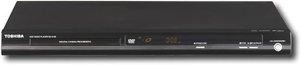 Toshiba Progressive Scan All Region Code-Free DVD Player SD-4100