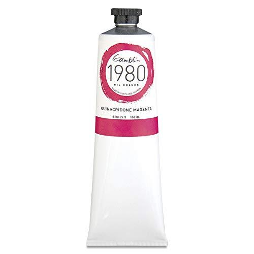 Gamblin 1980 Oil Quin Magenta 150Ml