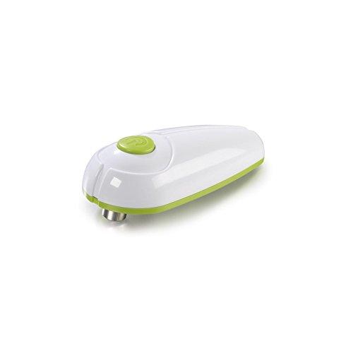 GOURMETmaxx Dosenöffner elektrisch Touch and Go 3 Volt | Elektrischer Dosenöffner zur automatischen Dosenöffnung mit einem Knopfdruck ohne Verletzungsgefahr | Für Dosen ab 65 mm Durchmesser