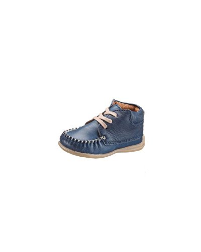 bellybutton Lauflernschuhe Boots Leder blau Jungs Schuhe (19, blau)