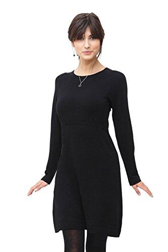 Milker Loma Robe d'allaitement Robe maternité Noir Taille S