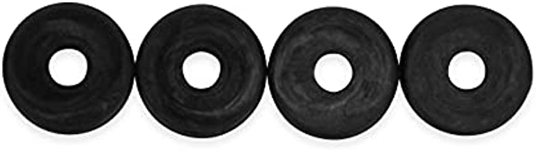 Camco Magic Chef RV Stove Grommet - Protects Your RV and Camper Kitchen Stovetop From Scratches Caused by Stove Grates | Sized for Magic Chef Stove Grates - 4 Pack (43614)