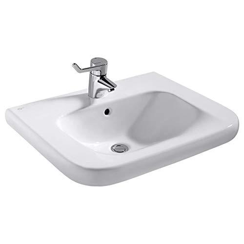 Ideal Standard Connect Freedom Waschtisch 600 mm, unterfahrbar, S2389, Farbe: Weiß mit Ideal Plus