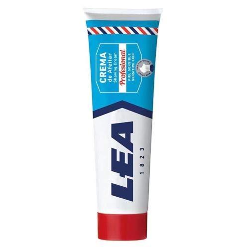 Lea professionelle Rasiercreme extra für empfindliche Haut - 250 g - Made in Spanien
