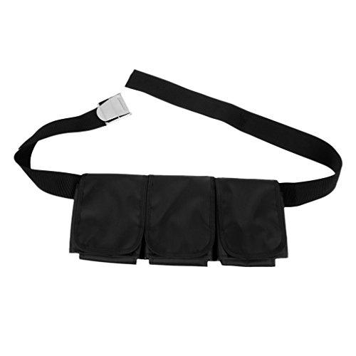 perfk Tauchen Schnorcheln Bleigürtel Taschenbleigurt Bleigurt Belt Gurt Gürtel - 3 Taschen