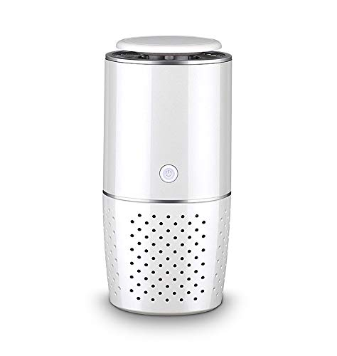 Best Bargain Car Air Purifier Negative Ion Aromatherapy Mini Ion Air Purifier Odor Cleaner Home Toil...