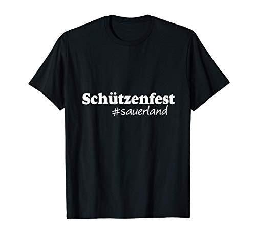 Schützenfest Sauerland  Dorfkind Sauerländer Worte Bier T-Shirt