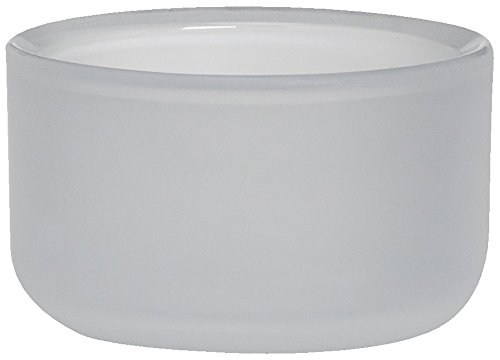 bolsius glashouder Horizon voor maxi licht 46/82 mm (1 stuks) - wit