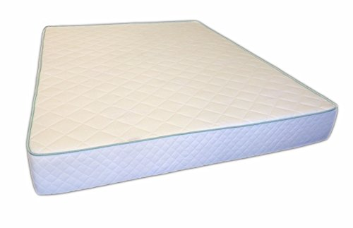 "Habitat 8"" Pure Latex and Certi-Pur Non Toxic Hybrid Queen 60x80 Mattress"