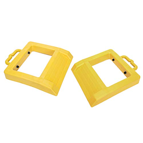 2 Homeon Wheels Universal Towing Mirror Clamp on Extended Mirror Driver and Passenger Sides for Vehicle Trailer Truck Notice Applicable Vehicle Rearview Mirror is 0.59 inches Between Lens and Frame