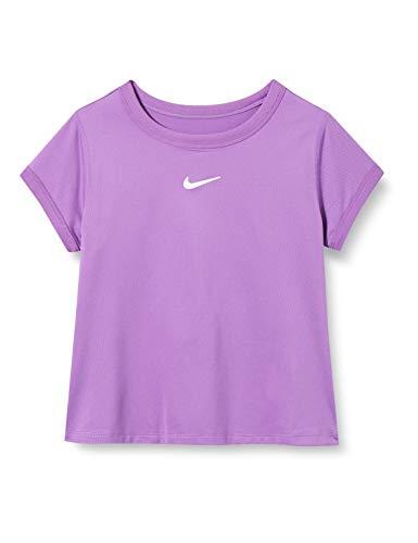 NIKE NKCT Dry Camiseta, Niñas, Purple Nebula/White, Medium