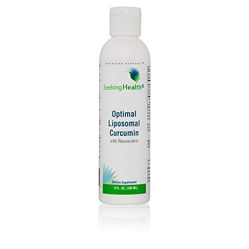 Seeking Health | Optimal Liposomal Curcumin | Liposomal Tumeric | Resveratrol Supplement | Non-GMO | Allergen-Free