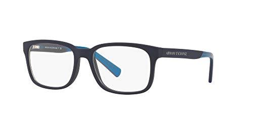 AX Armani Exchange Men's Ax3029 Square Prescription Eyewear Frames