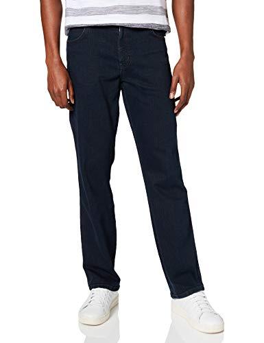 Wrangler Texas Contrast, Jeans con la Gamba Dritta, Uomo, Blu (Blue Black 002), 48W / 34L