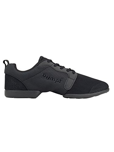 Rumpf Mojo Dancesneaker Tanzsneaker Tanzschuhe Hip Lindy Hop Gymnastik Trainings Hallen Aerobic Schuhe , schwarz, GB 5.5, EU 38.5, EU 39